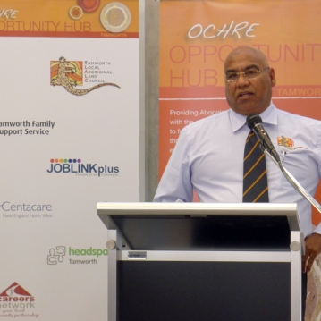 Opportunity Hub Launch - Chairperson